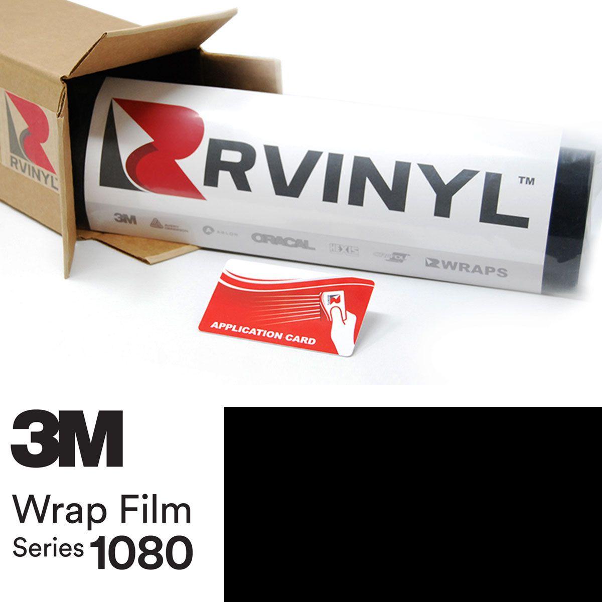 3M™ Wrap Film Series 1080 - Gloss Black | Truck | Car wrap