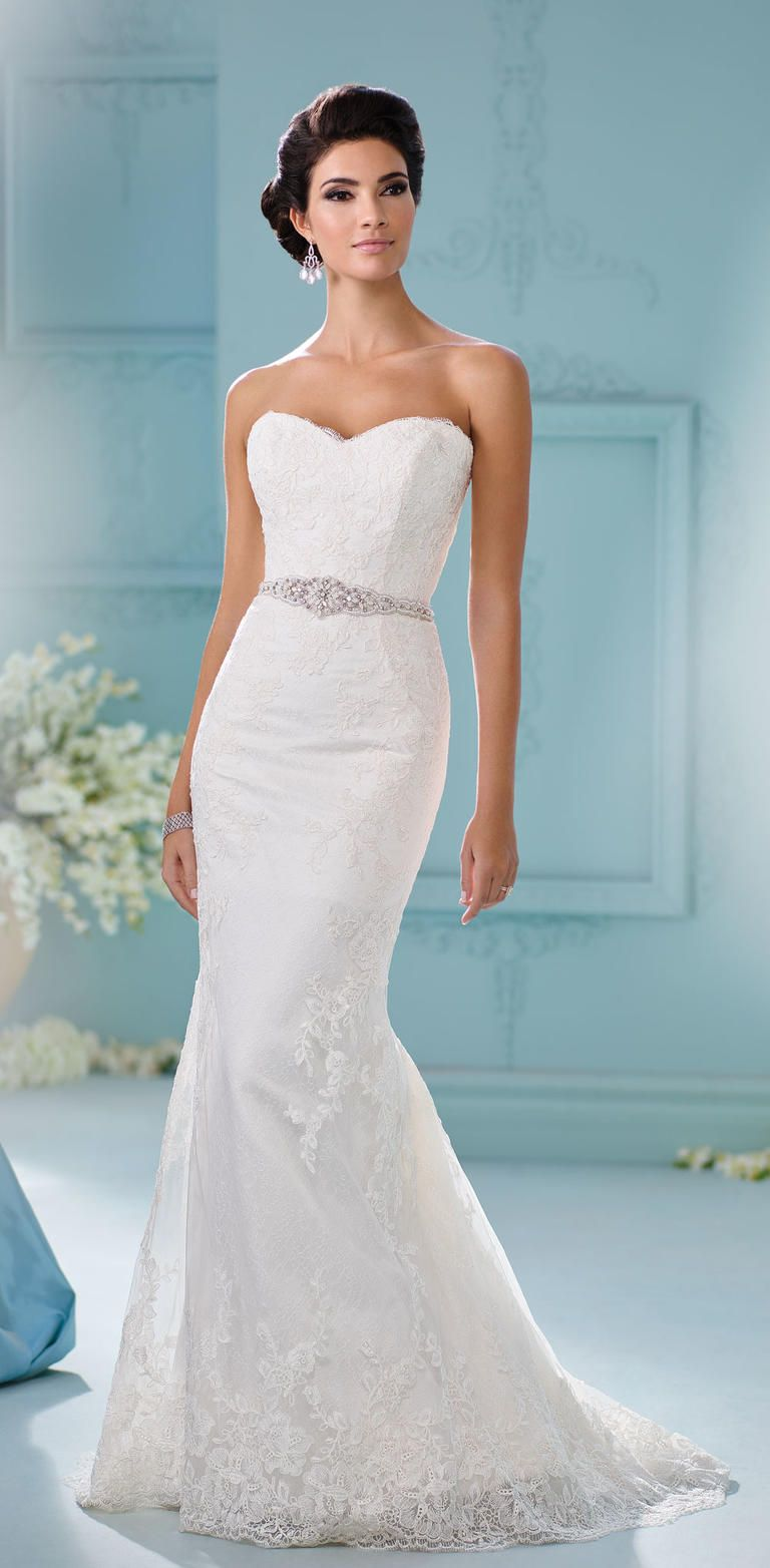 David Tutera\'s Spring 2017 Wedding Dresses are Straight Out of a ...