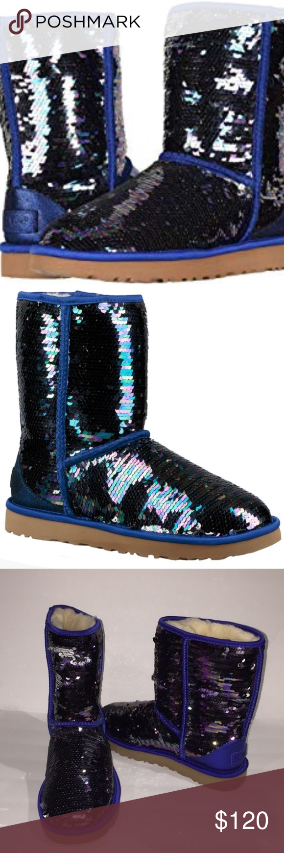 UGG Pure Sequin boots Size 10 in 2020