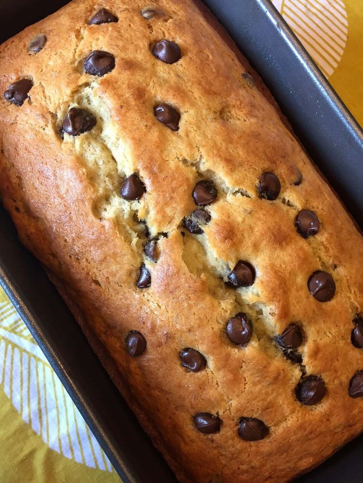 Easy Chocolate Chip Banana Bread Recipe – Best Ever!