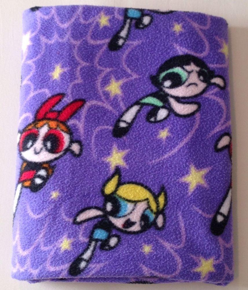Powerpuff Girls Bedroom Vtg Cartoon Network Power Puff Girls Fleece Throw Blanket Rare