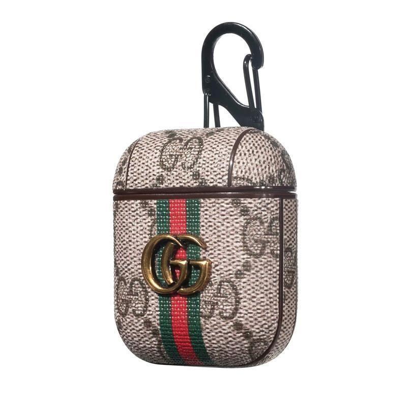 Custom in 2020 airpod case leather case gucci fashion