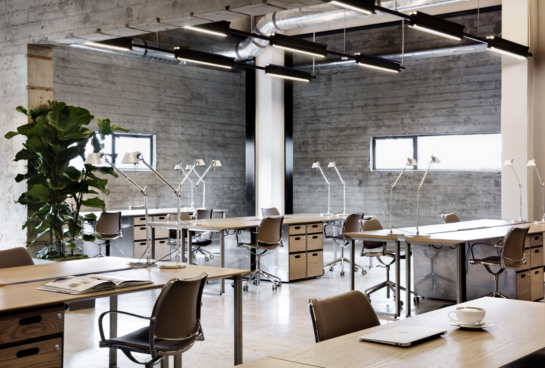 Beautiful Modern Industrial Office Design Workspaces Industrial