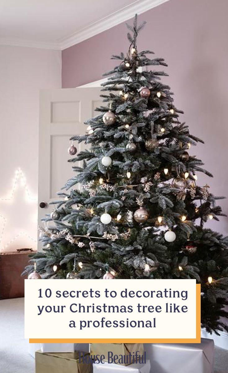 10 secrets to decorating your Christmas tree like