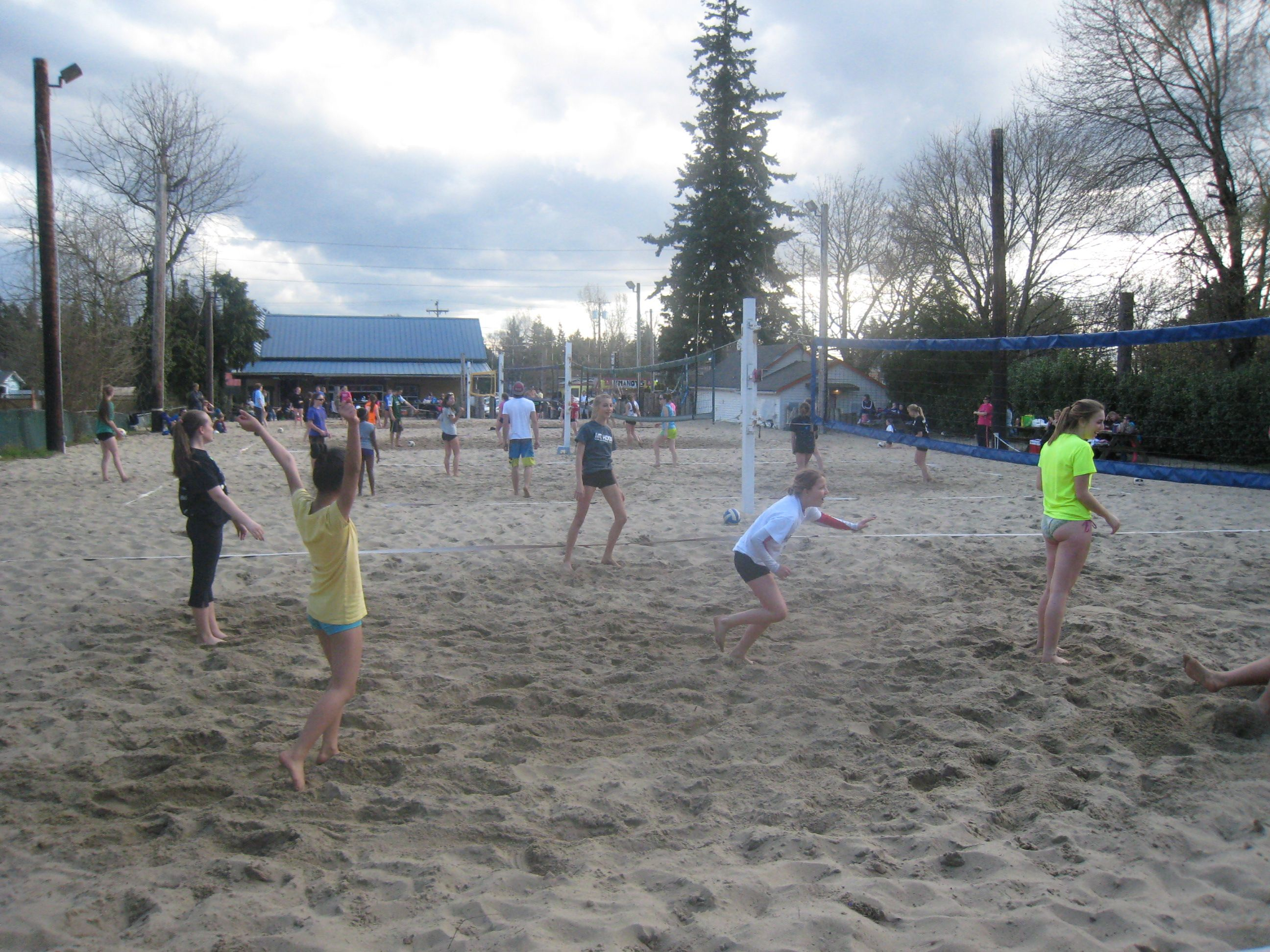 Woks Up Beach Volleyball Volleyball Camp Spring Break Beach