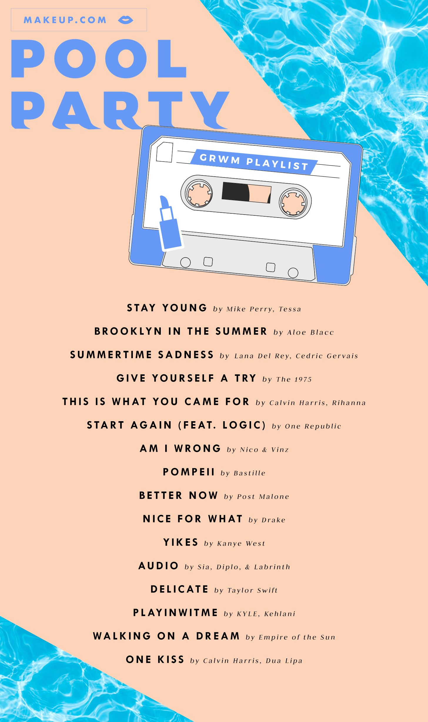The Best Waterproof Makeup Products Makeup Com By L Oreal Summer Songs Playlist Party Playlist Party Music Playlist