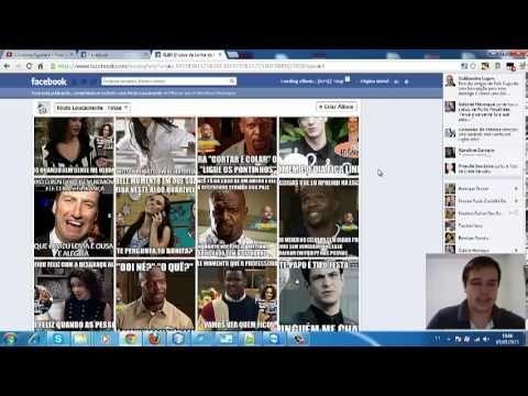 Baixar Album Inteiro de Páginas do Facebook de forma automática
