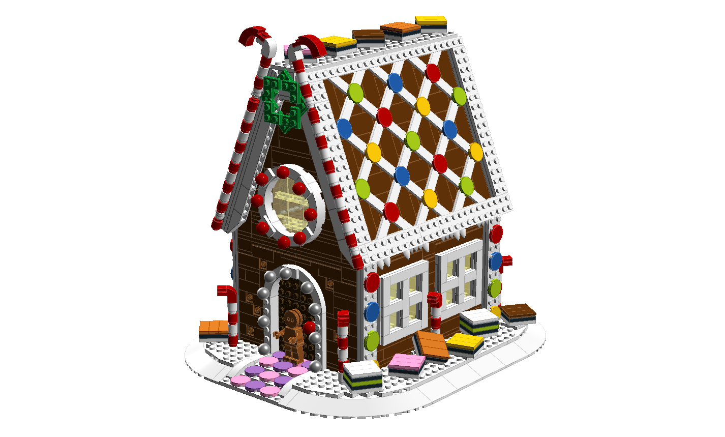 Gingerbread House Gingerbread house, Cookie house