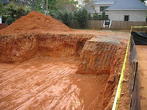 how to dig out a basement real estate u003c u003e renovations rh pinterest com how to dig a basement foundation how to dig a basement for more headroom