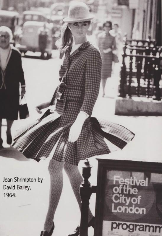 Jean Shrimpton,1964, by David Bailey