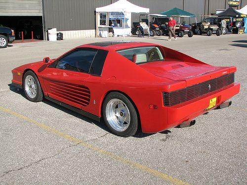 Fiero Lamborghini Body Kit Re Pontiac Sunfire Based Fake