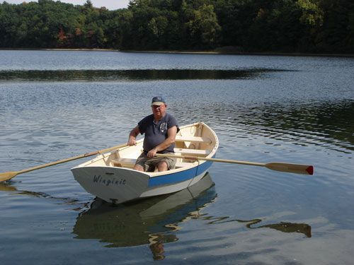 Pooduck Skiff rowing | boats I'd like to build | Pinterest | Boat ...