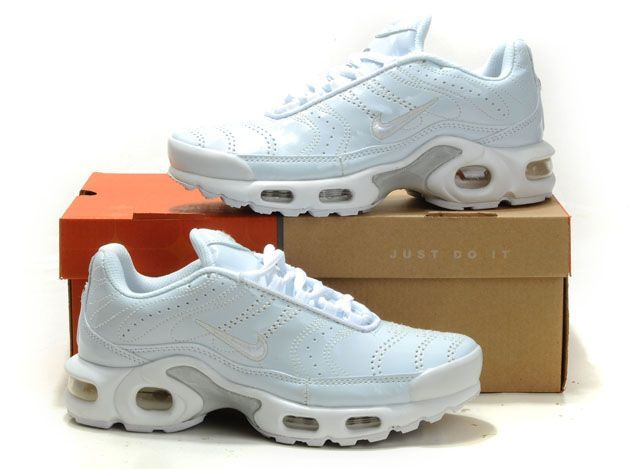 the best attitude 3c078 974b9 Women Nike Air Max Tn Requin White-grey 366698