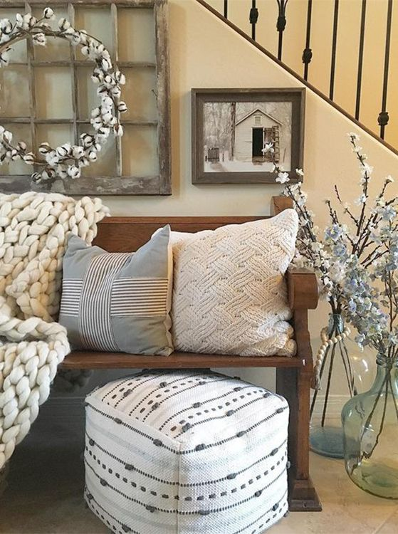 Wondering How To Style The Nate Berkus Target Pouf Here