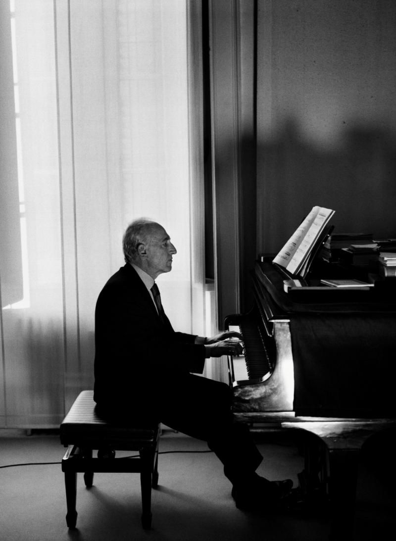 Maurizio Pollini, great pianist from Milan. Check out his Chopin albums!