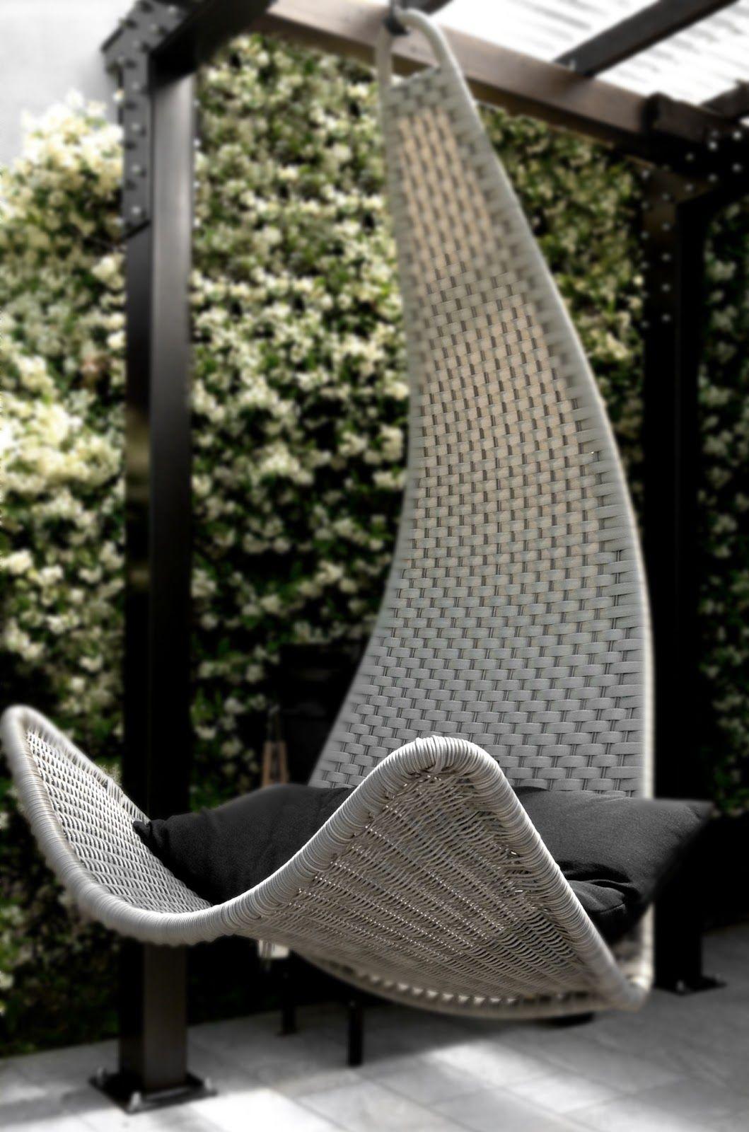Altalena Giardino Ikea dondolando una poltrona sospesa per il portico (met