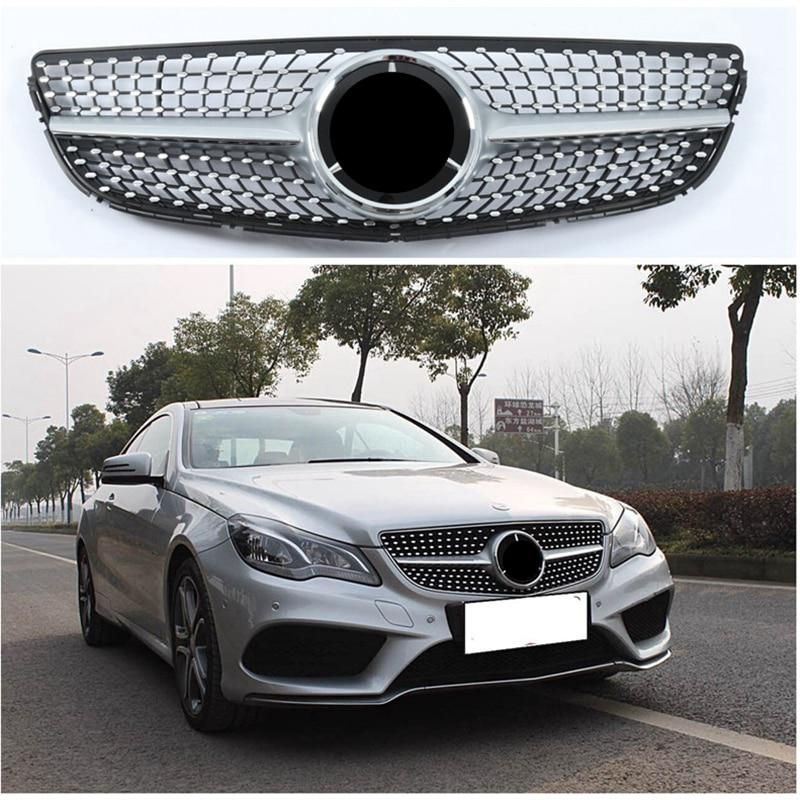 W212 Facelifted Diamond Front Racing Grill Grille For Mercedes