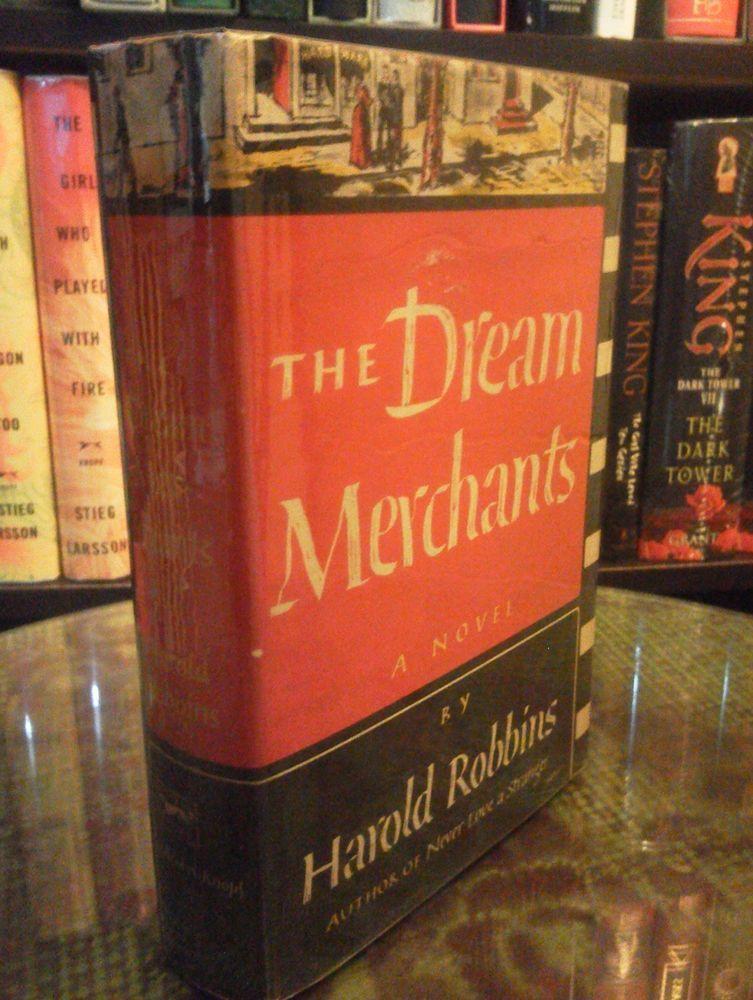 Happy birthday harold robbins the dream merchants