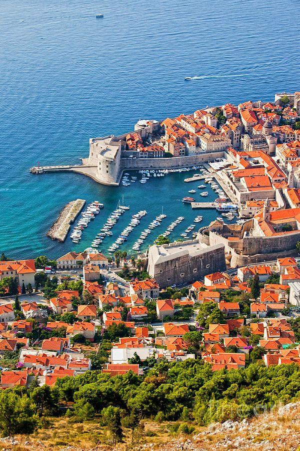 ✮ Dubrovnik from Above