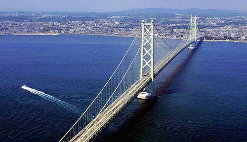 Akashi Kayko Bridge Kobe Japan Bridges The Big Connection