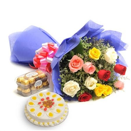 Send Anniversary Gifts Online India Through DeliverFeelings With FREE Shipping