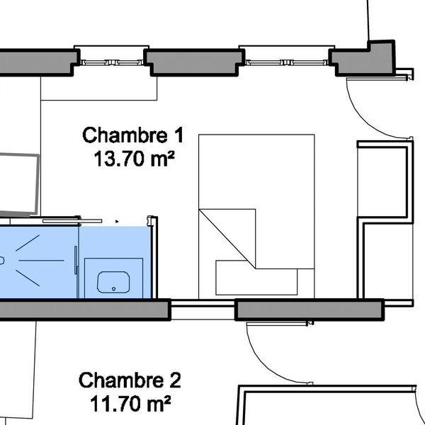 Aménagement petite salle de bains  28 plans pour une petite salle - plan petite maison 70 m2