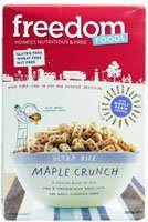 Freedom Foods Ultra Rice Maple Crunch Gluten Free -- 10.6 oz - http://sleepychef.com/freedom-foods-ultra-rice-maple-crunch-gluten-free-10-6-oz/