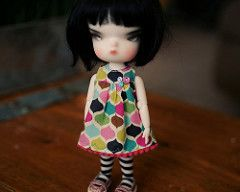 Person/Odeco Dress - Foofy (Runs for Coffee) Tags: winter person dress sewing 4 universe limited secretdoll