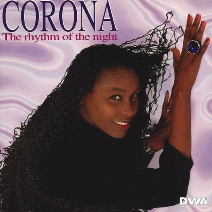 Corona – The Rhythm of the Night (single cover art)