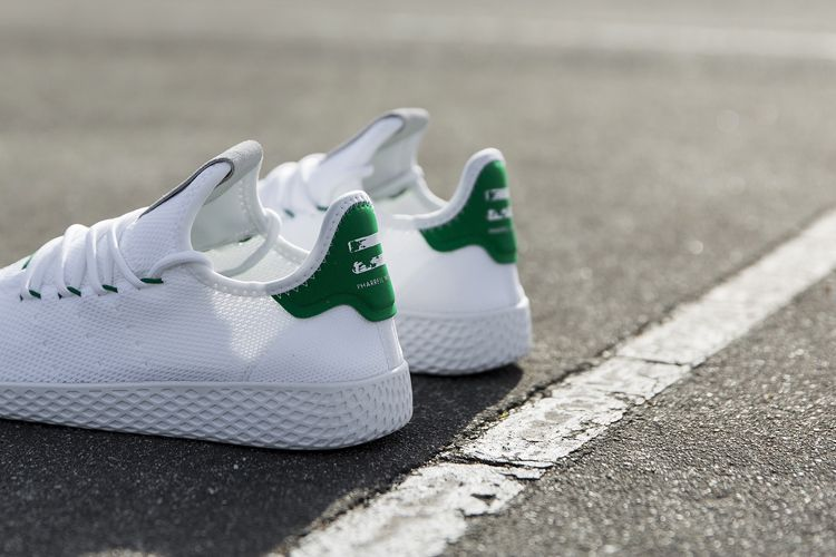 ed6f2690c First Look at Pharrell Williams x adidas Originals Tennis Hu ...