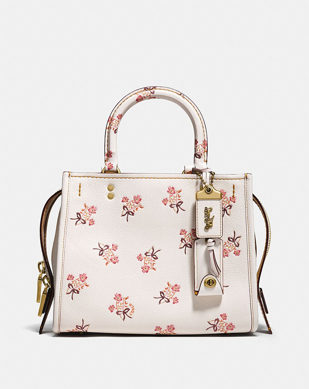 4391e019ca Coach ROGUE 25 WITH FLORAL BOW PRINT | Coach $650 | Elevated: Arm ...