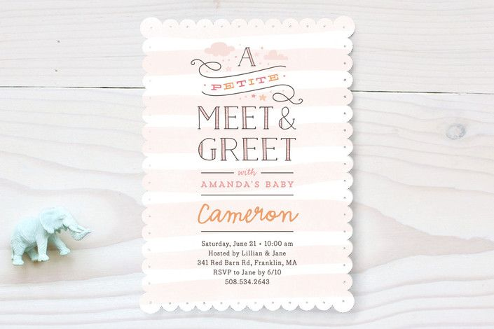 Petite meet greet baby shower invitations by jennifer wick at petite meet greet baby shower invitations by jennifer wick at minted m4hsunfo