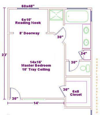 Master Bedroom Floor Plans With Bathroom Bathroom Plan Design Ideas Free Bathroom Floor Plan Master Bedroom Layout Master Bedroom Plans Bedroom Floor Plans