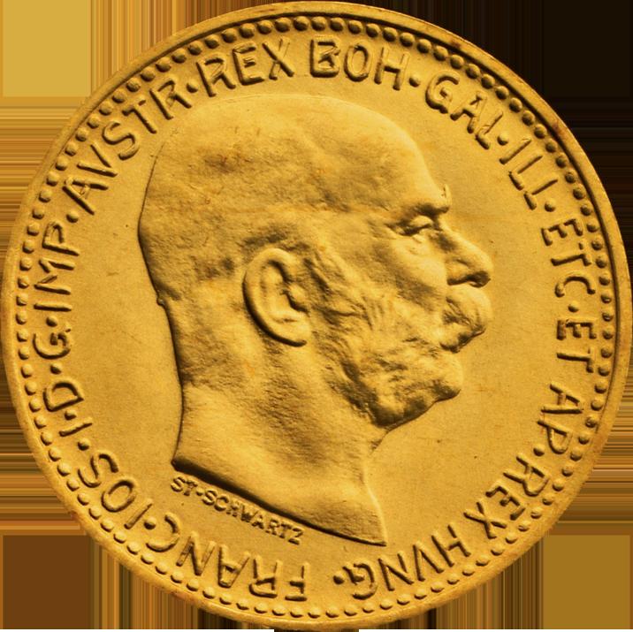 10 Kronen Goldmunzen Zum Sammeln Anlegen Und Schenken Goldbarren Alte Munzen Krone
