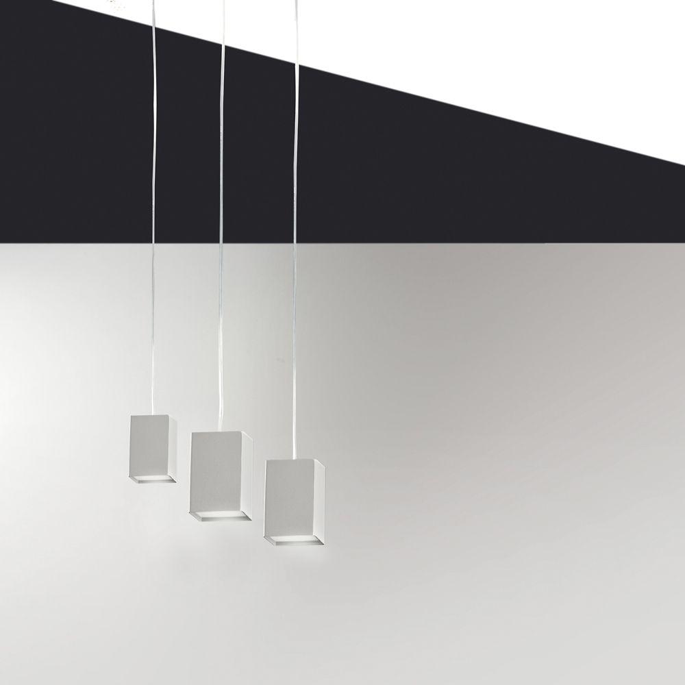 cubick kubische led h ngeleuchte in 3 gr en und den farben wei pastellgr n corten sand und. Black Bedroom Furniture Sets. Home Design Ideas