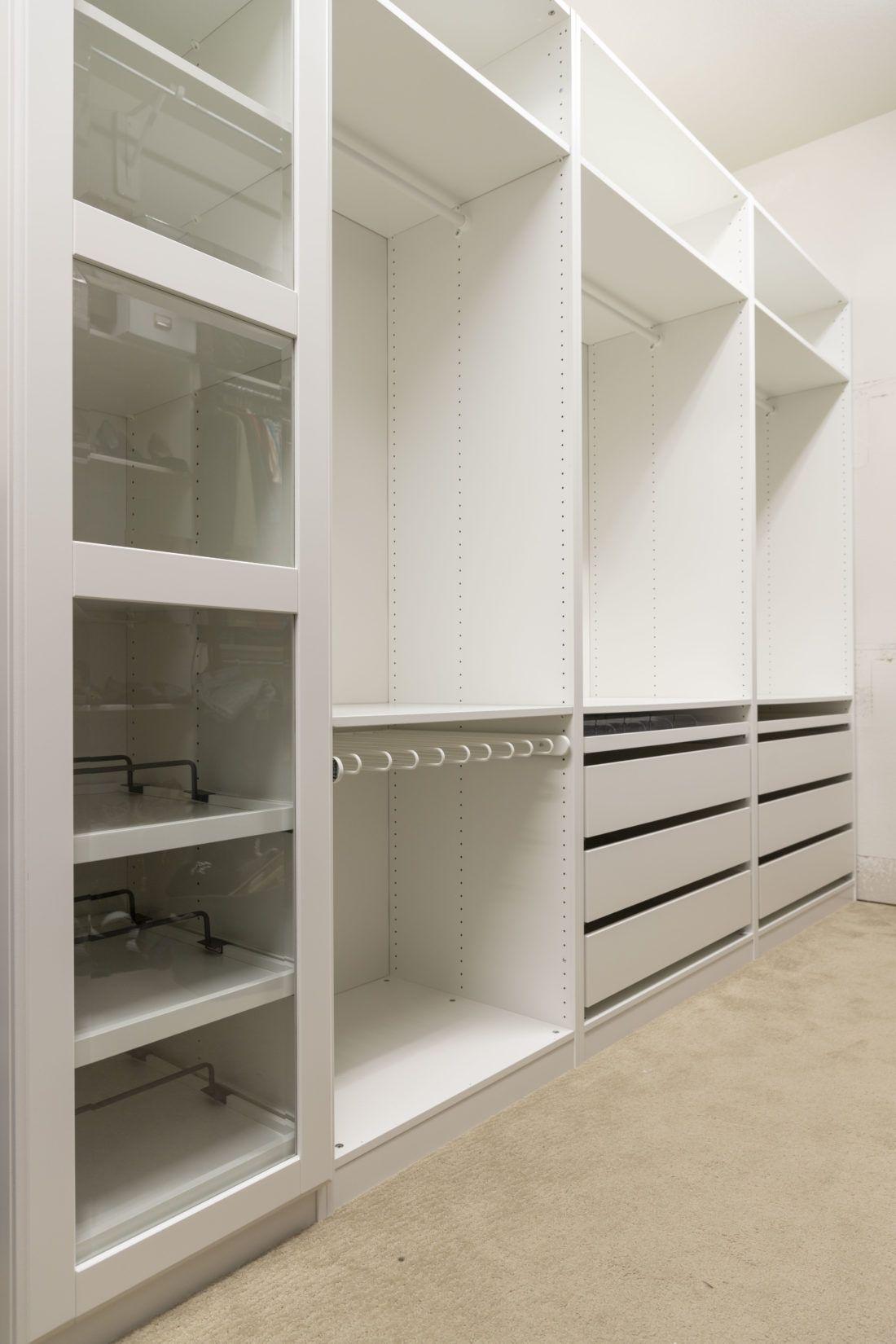 Ikea Closet Progress Verruckt Wunderbar In 2020 Einen Kleiderschrank Bauen Schrankentwurf Ankleide Zimmer