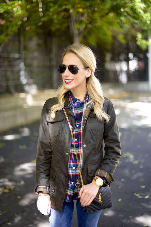 Barbour Womens Waxed Utility Jacket Editorial Prep