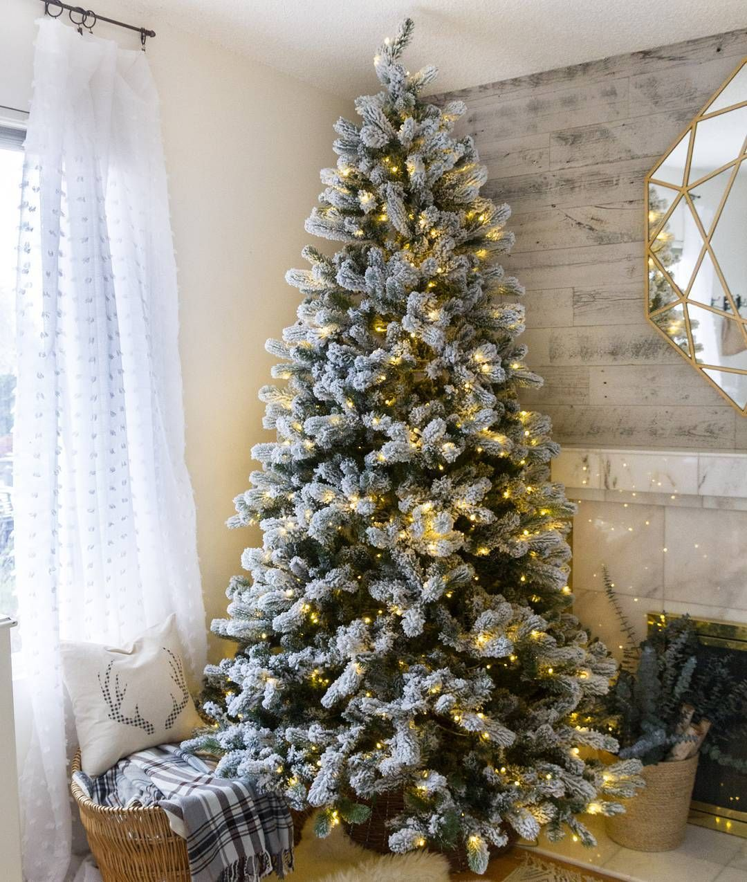 1 290 Likes 5 Comments King Of Christmas Kingofchristmas On Instagram Christmas Tree Pictures Frosted Christmas Tree Flocked Christmas Trees Decorated