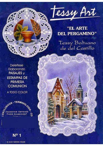 Tessy Art - El Arte de Pergamano - Gabriela de Coronel - Picasa Web Albums