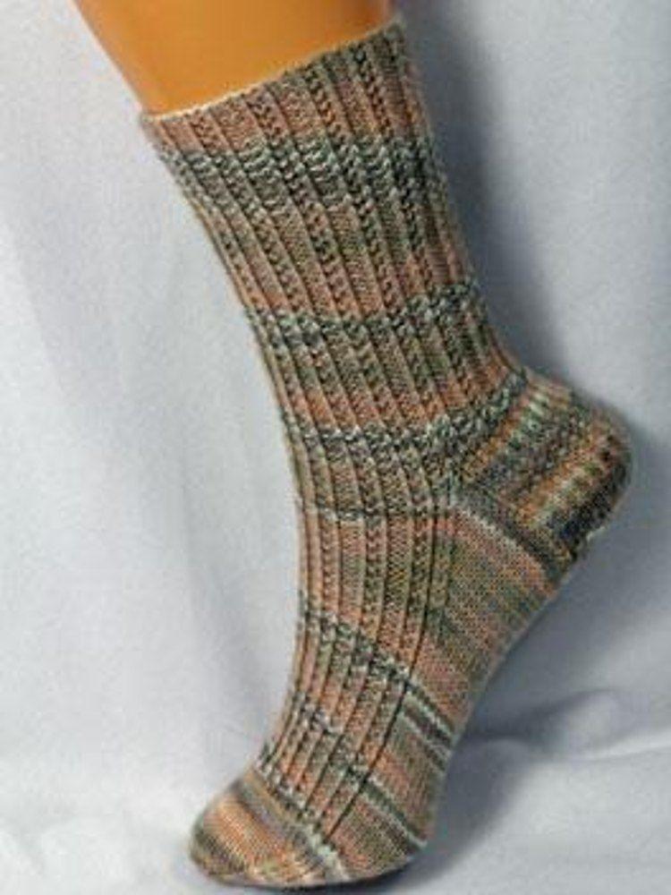 Seedy Rib Socks