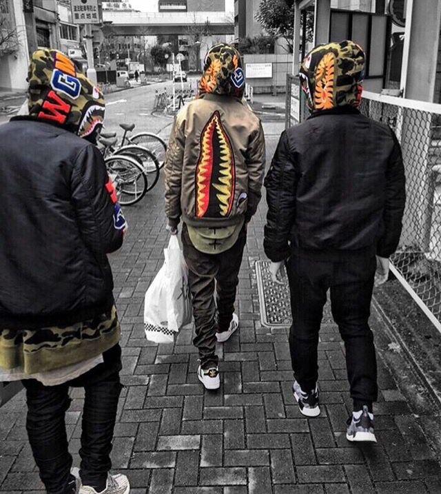 Pinterest @Taiylamai | Clothes | Pinterest | Bape Street and Street wear