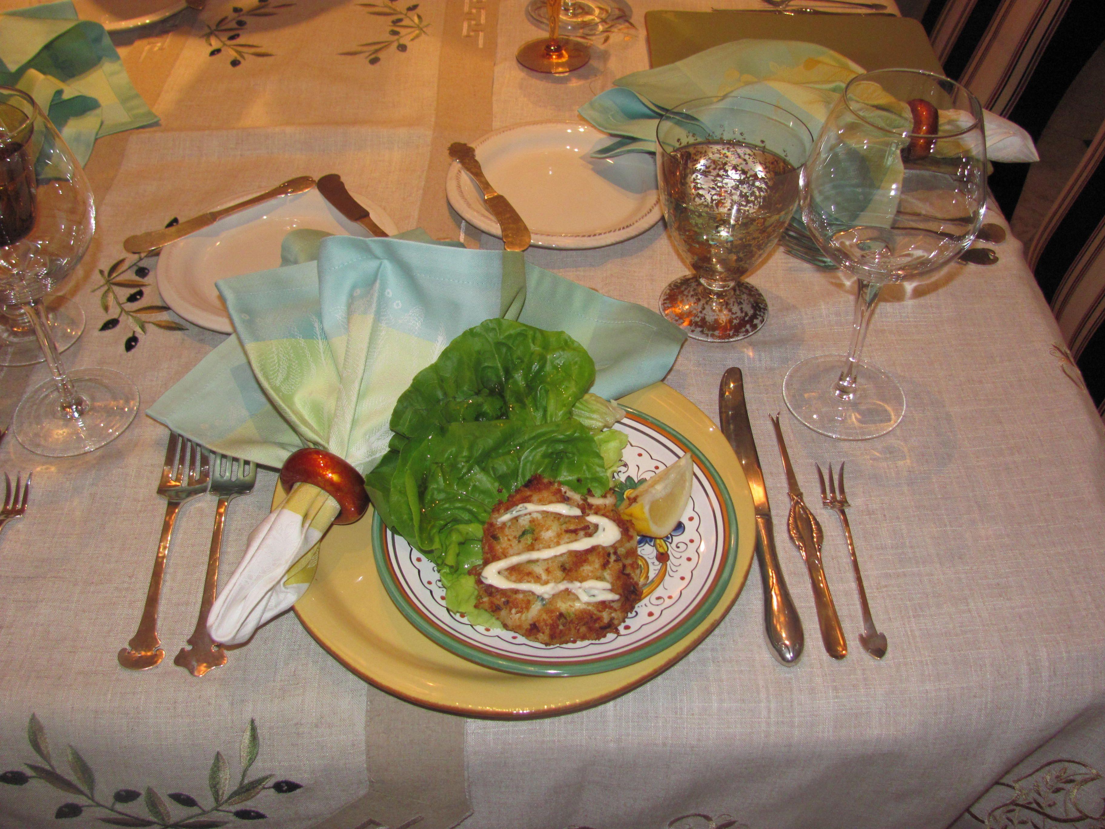 peewees crab cakes menu
