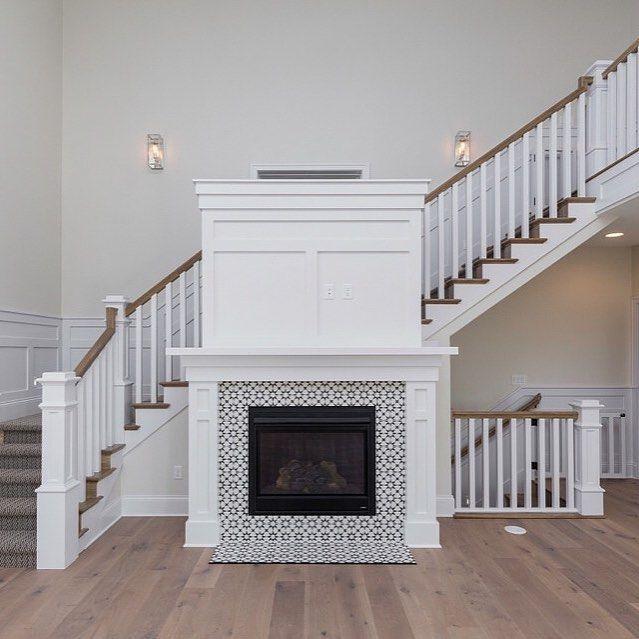 Cement Tile Shop Encaustic Cement Tile Atlas Ii Fireplace Tile Surround Fireplace