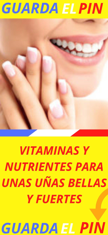 Vitaminas Y Nutrientes Para Unas Uñas Bellas Y Fuertes