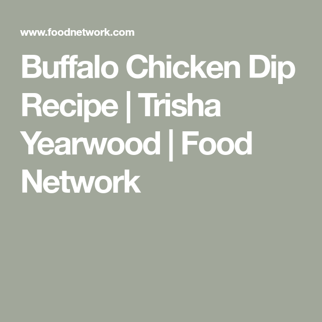 Buffalo Chicken Dip Recipe Buffalo Chicken Chicken Dips