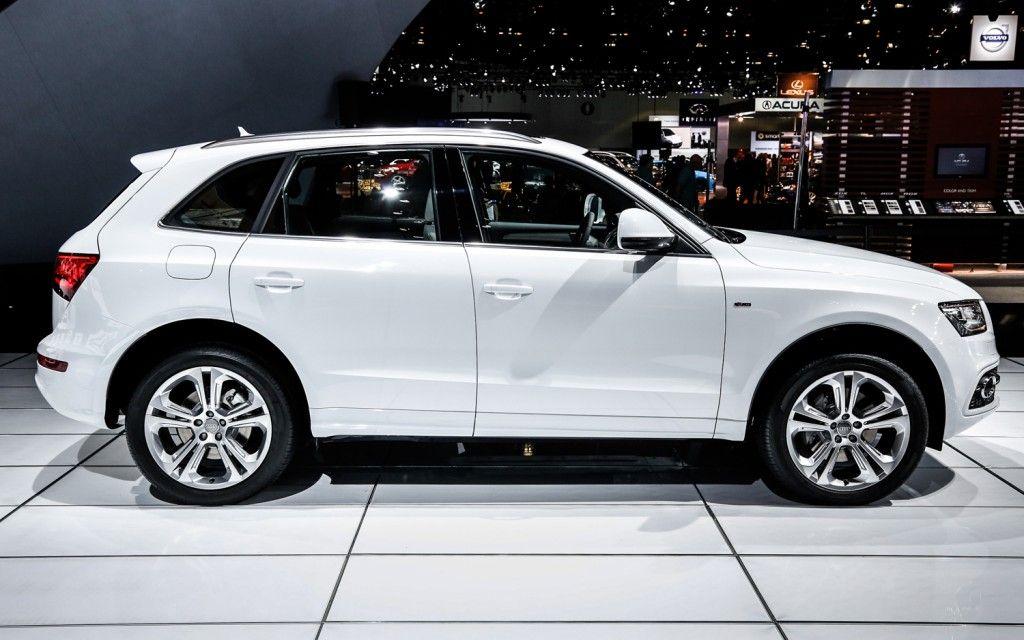 2014 Audi Q5 Tdi Right Side View Audi Q5 White Suv Audi