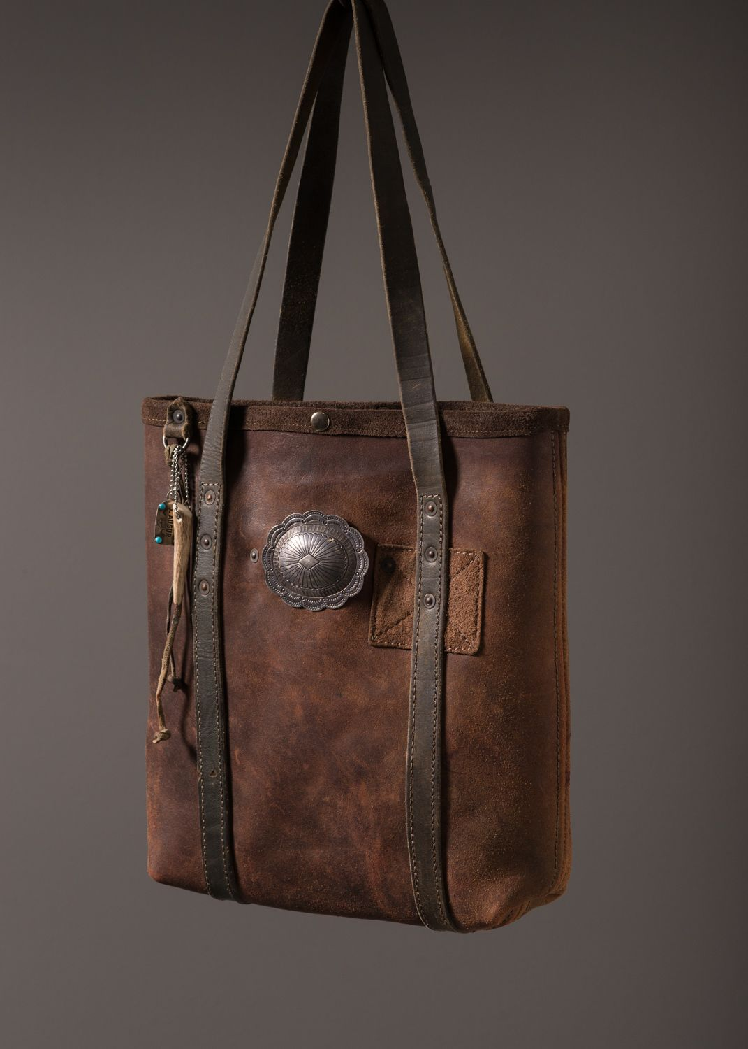 Chaps Leather Mini Tote – J AUGUR DESIGN