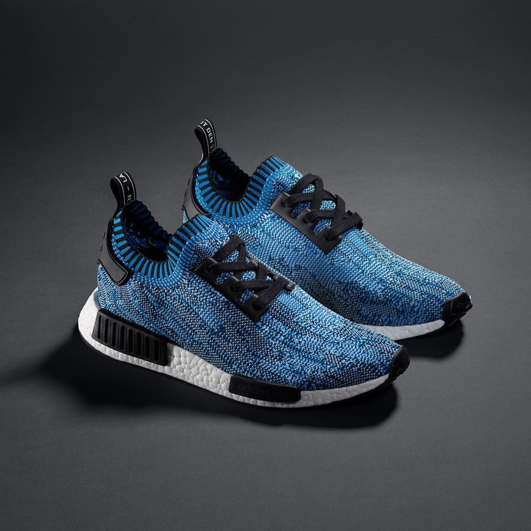 a57273b558cbe The third of four unmissable options - this blue (BA8598) NMD Runner PK  arrives as part of the  Camo Pack  on April 9th. Coming to the U.S. in late  April.