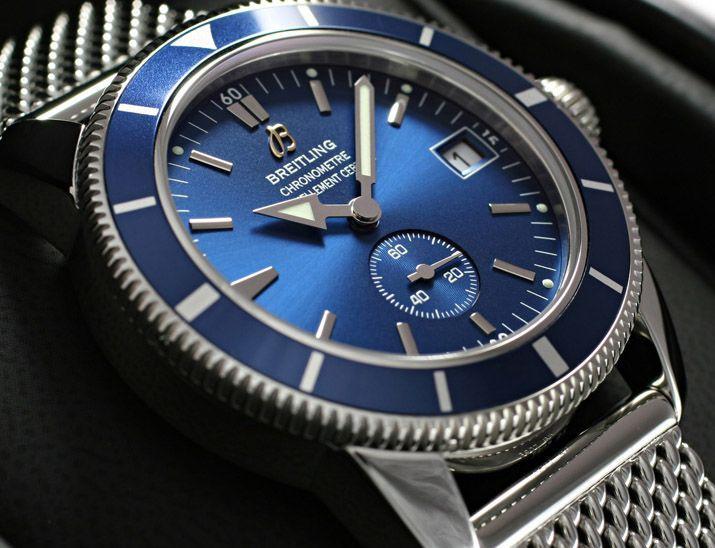 watch 6de27 95d06 ブライトリングスーパーオーシャンヘリテージ 38 青 A372C35OCA ...