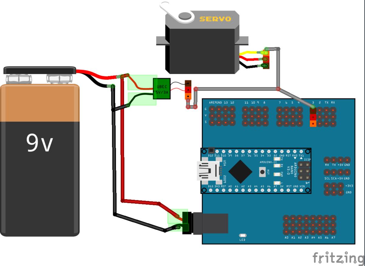 Cómo controlar generar una señal PPM con Arduino para controlar un